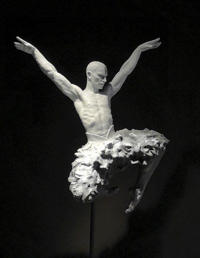 Coderech-Malavia Swan-Soul-Bronze-77-cms-2018